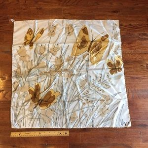 Vintage VERA Square Butterflies SCARF 🦋Butterfly